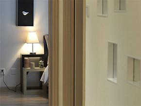 现代风格卧室过道装修图片