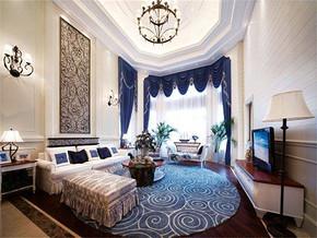 现代风格140平米客厅装修效果图