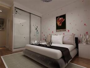 现代风格女孩的房间设计图