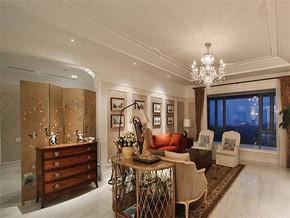 现代简约风格小户型客厅吊顶装修效果图