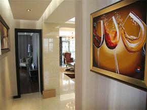 现代客厅过道装修效果图