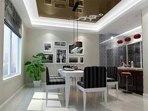 现代房屋餐厅装修效果图