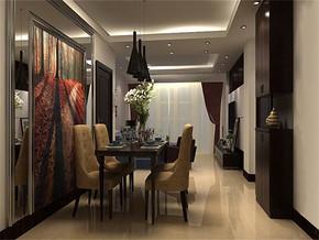 现代家居餐厅装修设计效果图