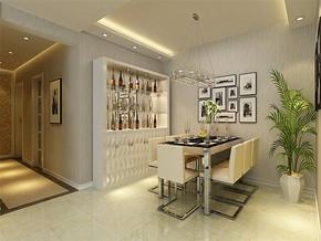 现代餐厅家居装修高清效果图