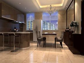 现代风格餐厅橱柜效果图