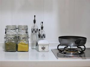 现代风格厨房灶台装修图片