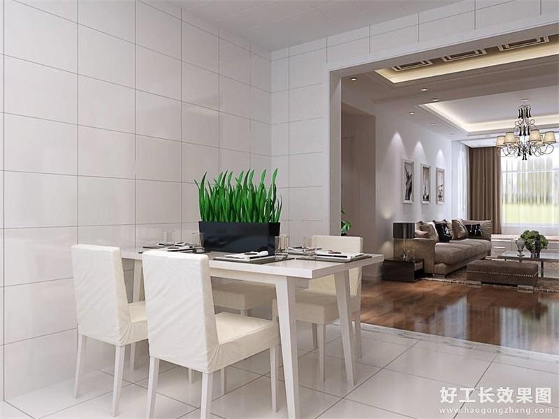 现代风格家庭饭厅装修效果图