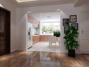 现代风格厨房间装修效果图