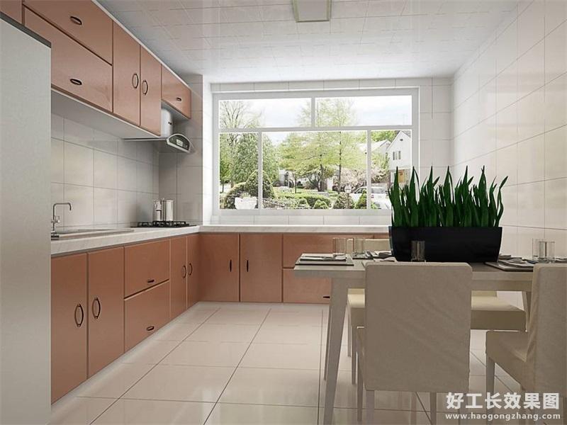 现代风格厨房隔断装修效果图