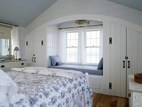简约风格卧室飘窗装修效果图