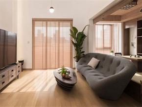 时尚现代日式两室装修效果图