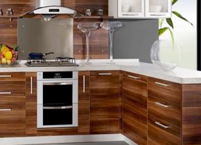 中式风格厨房橱柜装修效果图