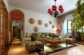 四室两厅房子装修设计图