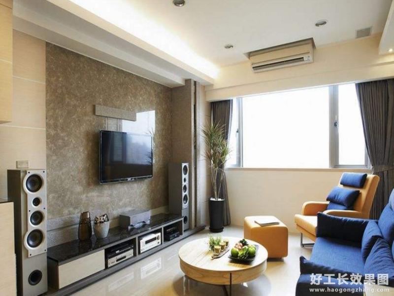 三室一厅客厅装修效果图