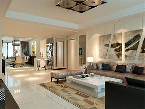 现代风格客厅家居装修效果图