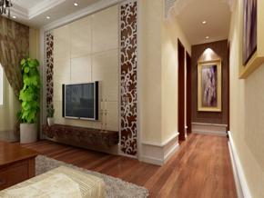 两室一厅简约风格玄关装修效果图