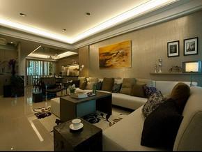 120平三室两厅装修效果图