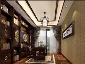 中式古典风格书房装修效果图