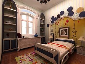 儿童卧室地中海风格装修效果图