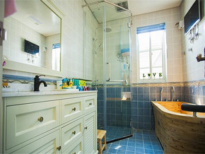 清新欧式两室装修效果图
