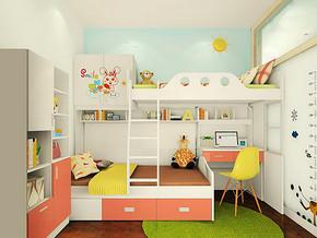 家庭儿童房装修效果图