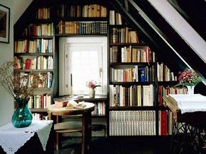 简约风格小书房装修效果图