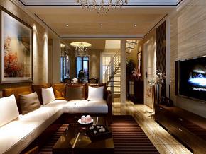 两室两厅精装修效果图