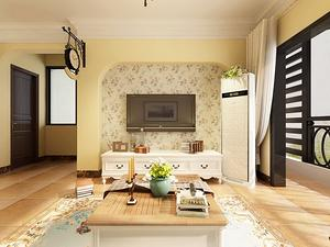 四室一厅房型装修设计效果图