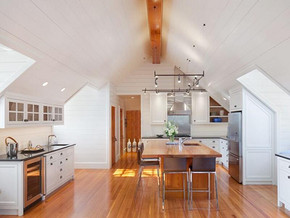 美式风格厨房餐厅装修效果图