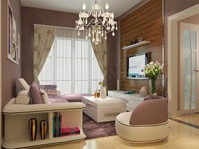 现代风格潮流时尚客厅效果图