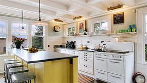 别墅简约风格厨房装修效果图