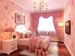 女生温馨卧室装修效果图