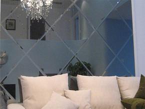 现代风格客厅沙发背景墙装修图片