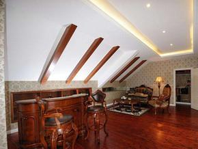 美式风格客厅吧台装修效果图