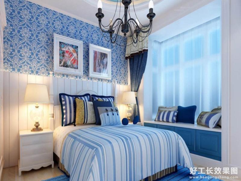韩式女生卧室装修效果图