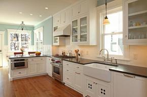 整体厨房颜色效果图