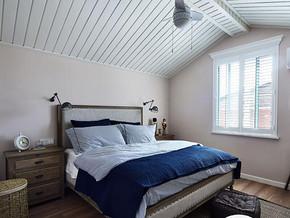 混搭风格卧室吊顶装修效果图