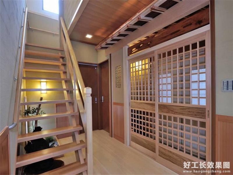 传统日式风格阁楼装修效果图