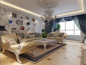 地中海风格客厅家居装修效果图