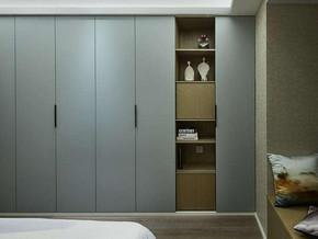 现代风格卧室简约衣柜装修效果图