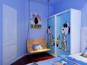小户型儿童房装修效果图