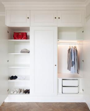 北欧风格家居定制衣柜装修效果图