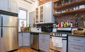 工业风小户型厨房橱柜装修效果图