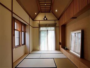 传统日式别墅装修效果图
