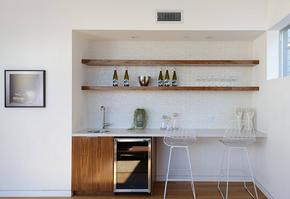 现代风格小型家居吧台装修效果图