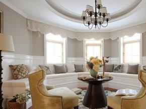 浪漫奢华法式风格别墅装修图