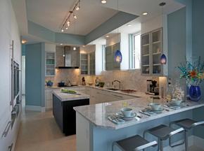 室内厨房装修设计效果图