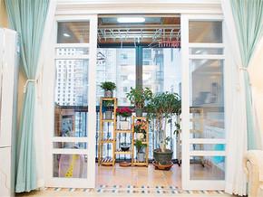 140㎡美式三居室阳台图