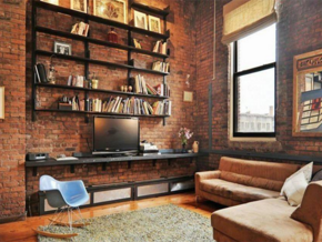 复古风格书房装修效果图