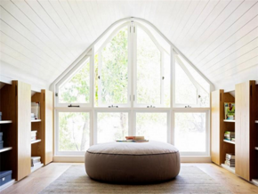 清新北欧风格书房优雅吊顶装修设计图